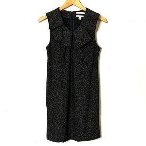 Banana Republic wool blend pleated shift dress